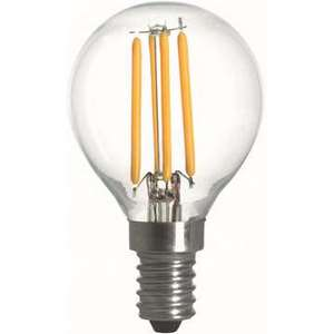 Filament LED-lampa, Klot, 2W, E14, 230V, MB