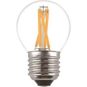 Filament LED-lampa, Klot, 2W, E27, 230V, MB